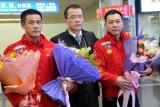中国车手启程出征2011达喀尔