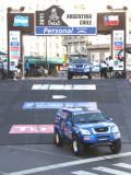 中国车队踏上达喀尔拉力赛征程