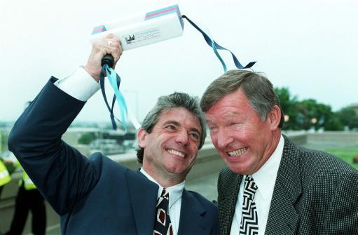 英超15年精华之95-96赛季:曼联狂飙小贝初登台