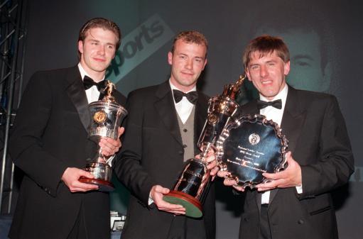 英超15年精华之96-97赛季:曼联92一代国王告别