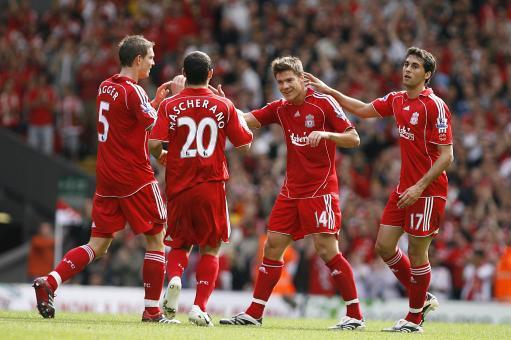 英媒体利物浦球员评分:红军新核心全场最高超托雷斯