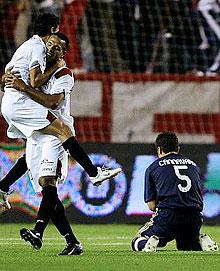 西甲-进攻乏力拉莫斯被罚下皇马0-2不敌塞维利亚