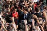 图文-皇马市议会广场庆祝夺冠范尼此刻成为焦点