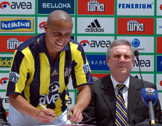 图文-卡洛斯正式签约费内巴切充满迎接挑战的渴望
