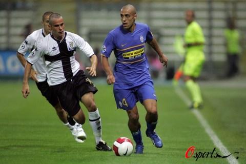 图文-[意大利杯]尤文VS帕尔马阿尔米隆表现抢眼