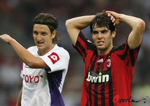 图文-[意甲]AC米兰1-1佛罗伦萨他俩都没能一击制敌