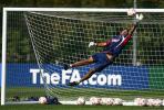 图文-英格兰备战欧洲杯预选赛詹姆斯升任一号?