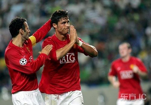 图文-[冠军杯]里斯本竞技0-1曼联小小罗答谢家乡父老