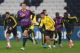 切尔西训练备战欧冠