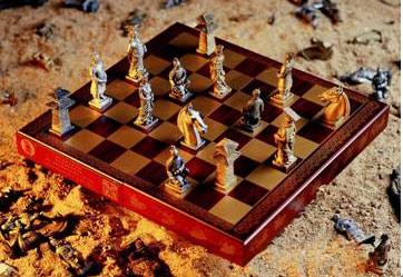 国际象棋也正是在这种文化理念的指导下设计而成的