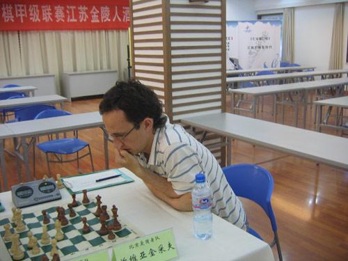 图文-国象联赛第7轮江苏VS北京兹维亚金采夫参战