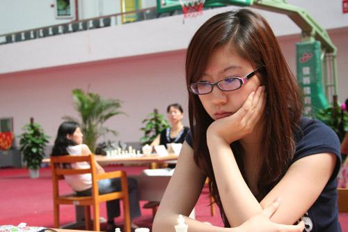 图文-国象联赛珠海赛会制最终轮谷笑冰时尚气质