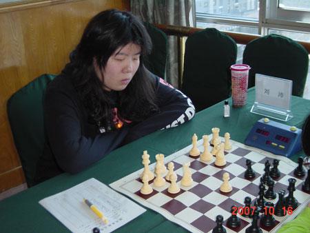 图文-国象甲级联赛第14轮激战刘沛亲手葬送青岛