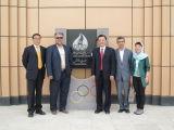 褚波造访伊朗国际奥委会