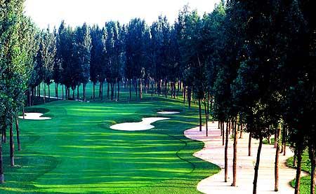 北京京华高尔夫俱乐部球道数据