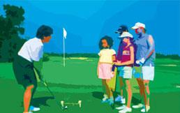让孩子与高尔夫结伴过假期高尔夫训练营汇总