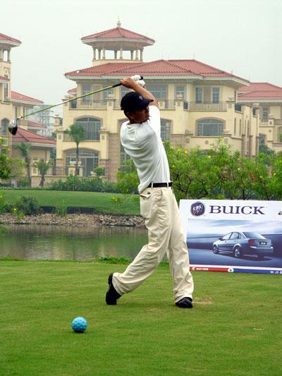中国高尔夫俱乐部联赛顺德君兰选拔赛圆满收杆围棋棋力图片