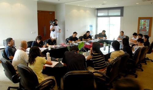 俱乐部联赛首次媒体研讨会在中南分区赛期间举行