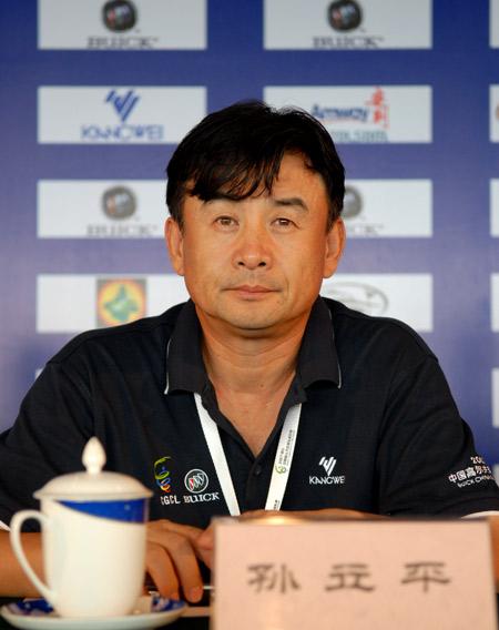 孙立平:联赛明年赞助年底敲定五家球会争办总决赛