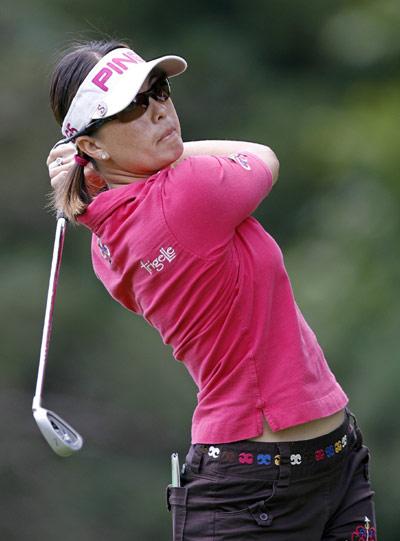 图文-科宁精英赛第二轮赛场上高尔夫的优雅