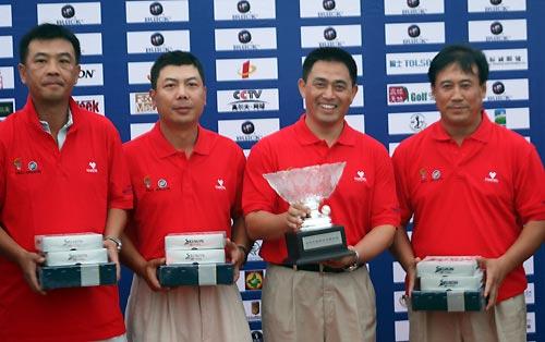图文-俱乐部联赛北方分区赛北京万柳获亚军
