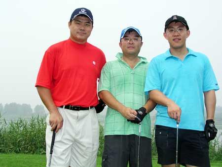 图文-京华高尔夫球会月例赛留住经历的美好瞬间