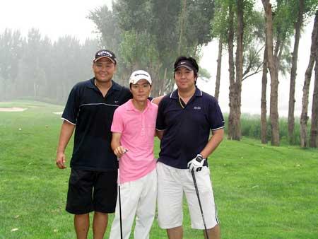 图文-京华高尔夫球会月例赛融身自然美景