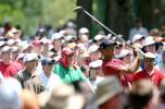 图文-美国PGA锦标赛决赛轮伍兹的观众最多