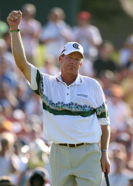 图文-PGA赛奥斯汀决赛轮表现伍迪奥斯汀获第二