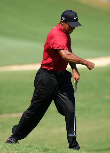 图文-美国PGA锦标赛伍兹风采难以把握尺寸
