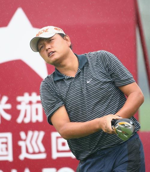 图文-中巡赛昆明站第三轮结束陈小马越战越勇
