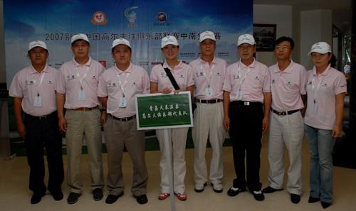 图文-俱乐部联赛中南分区赛青岛天泰代表队