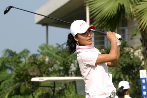 图文-中南分区赛女子组第一轮滇池湖畔魏晓蓉