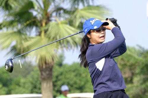 图文-中南分区赛女子组第一轮厦门凯歌李晓梅