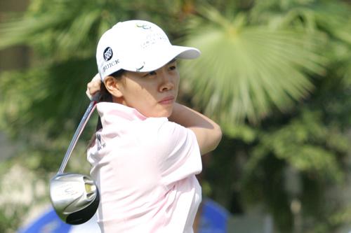 图文-中南分区赛女子组第一轮泉州高尔夫夏小红
