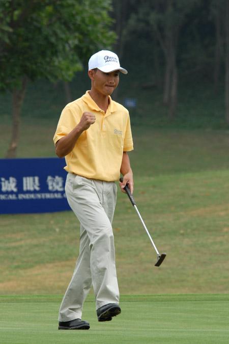 图文-中南分区赛男子组第一轮厦门东方杨升勤