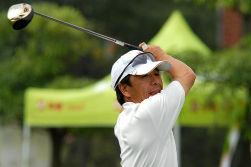 图文-中南分区赛第二轮男子组滇池湖畔刘国良