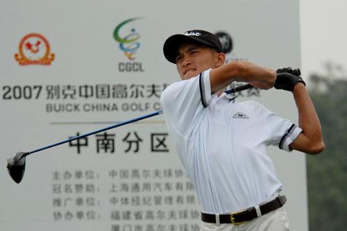 图文-中南分区赛第二轮男子组福州海峡叶鹏飞