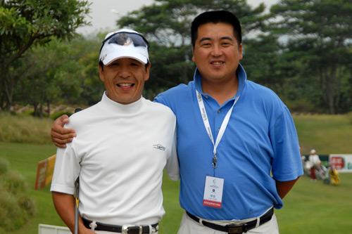 图文-中南分区赛第二轮男子组刘国良与宫磊