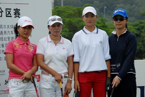 图文-中南分区赛第二轮女子组同组球员合影
