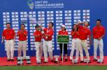 图文-中南分区赛颁奖典礼开启胜利的香槟酒