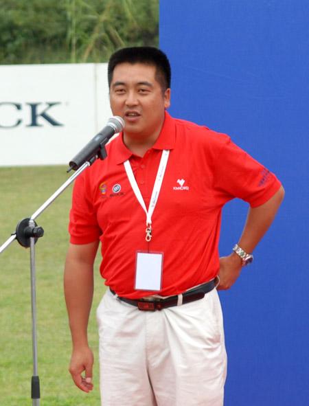 图文-中南分区赛颁奖典礼宫磊发表夺冠感言