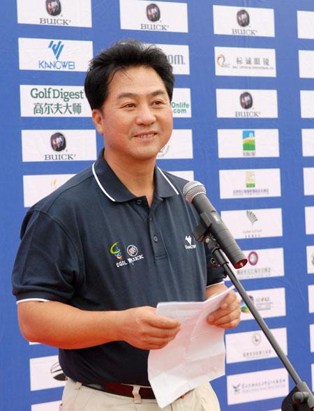 图文-中南分区赛颁奖典礼张小宁主任致辞