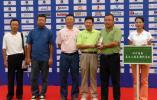 图文-中南分区赛颁奖典礼四川国际获纪念奖