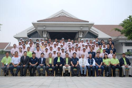 图文-俱乐部联赛华南分区赛全体合影
