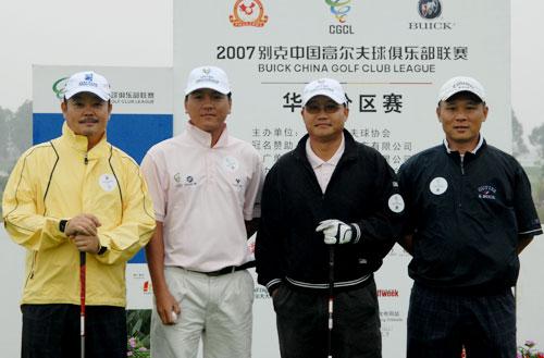 图文-俱乐部联赛华南分区赛开杆第四组选手