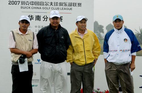 图文-俱乐部联赛华南分区赛开杆第五组选手