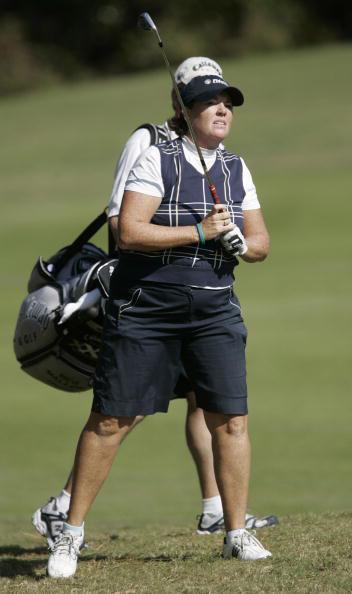 图文-LPGA冠军巡回赛次轮梅格马龙运气不佳