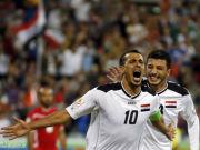 尤尼斯破门+失点 伊拉克2-0巴勒斯坦