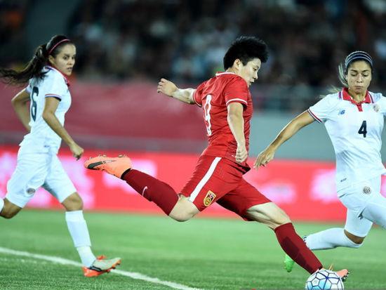 热身赛女足1-1